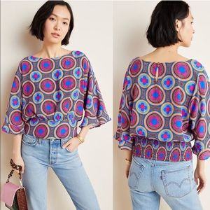 Anthropologie maeve miro blouse